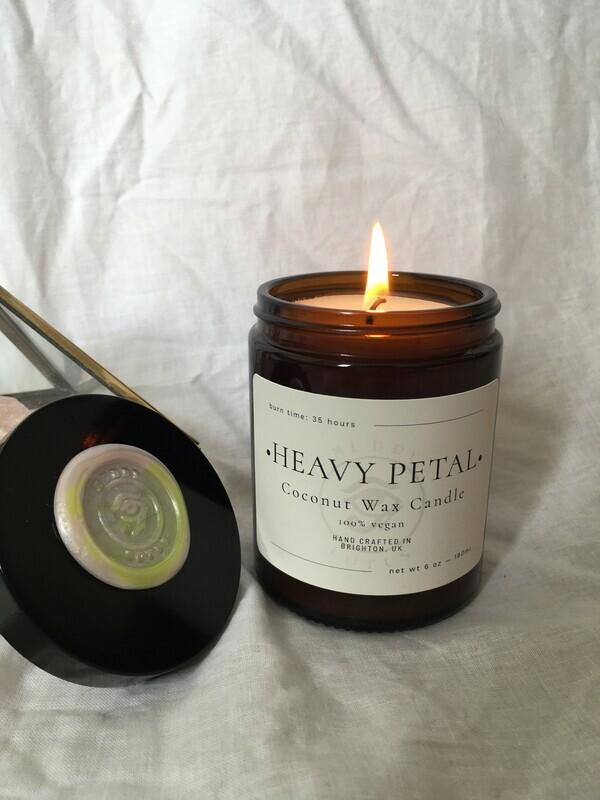 Heavy Petal Coconut Wax Vegan Candle