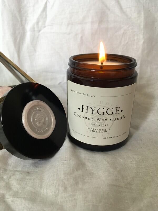 Hygge Coconut Wax Vegan Candle