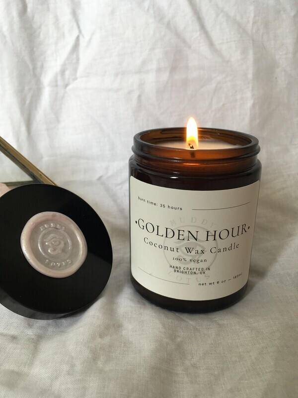 Golden Hour Coconut Wax Vegan Candle