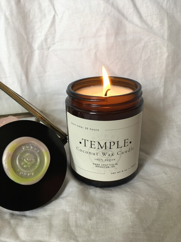 Temple Coconut Wax Vegan Candle