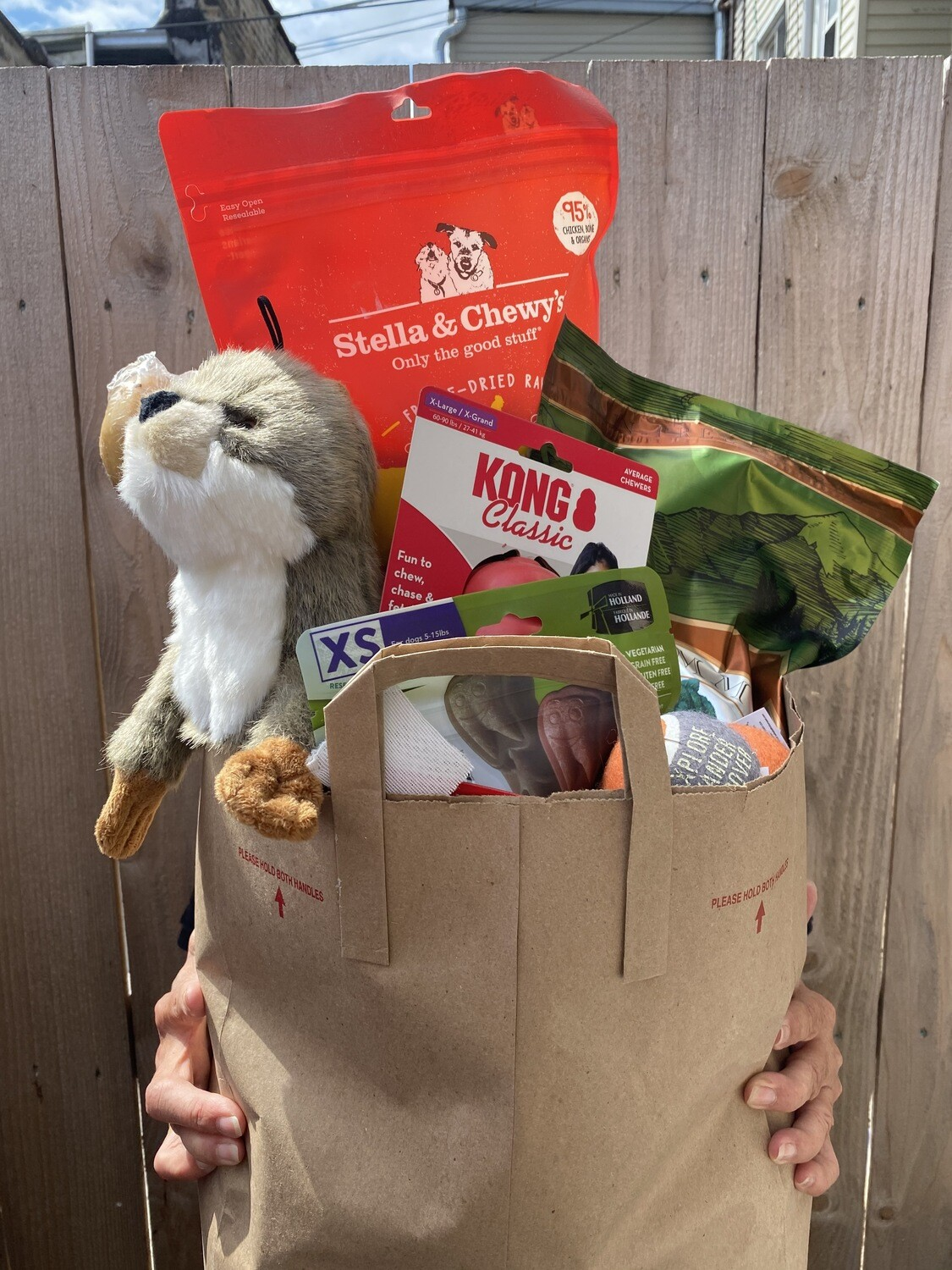 Feed a pet for a year