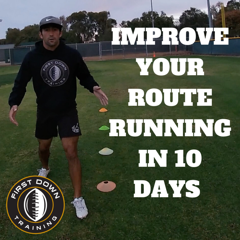 Improve Your Route Running In 10 DAYS!