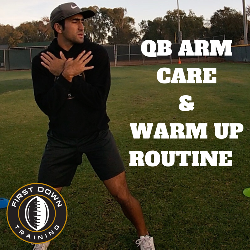 QB Arm Care/ Advanced Warm Up Routine