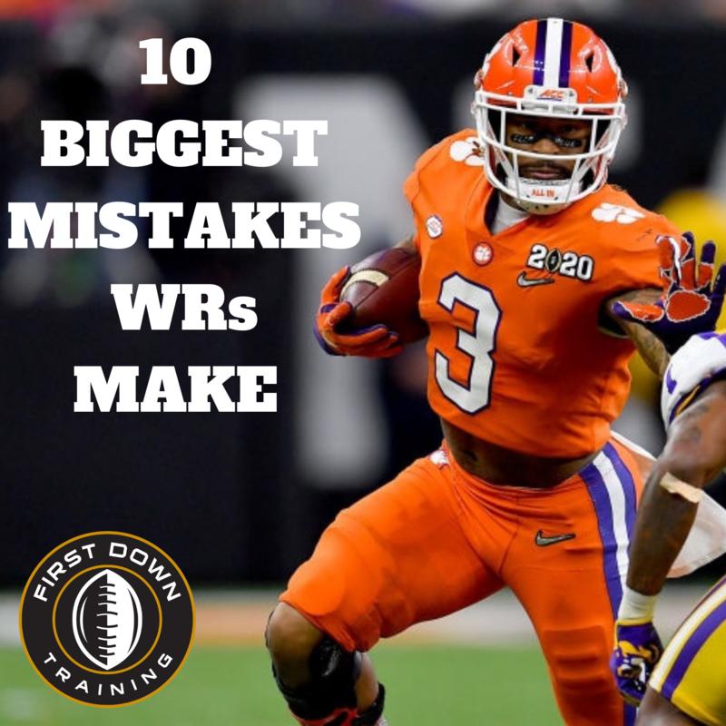 10 BIGGEST Mistakes WRs Make