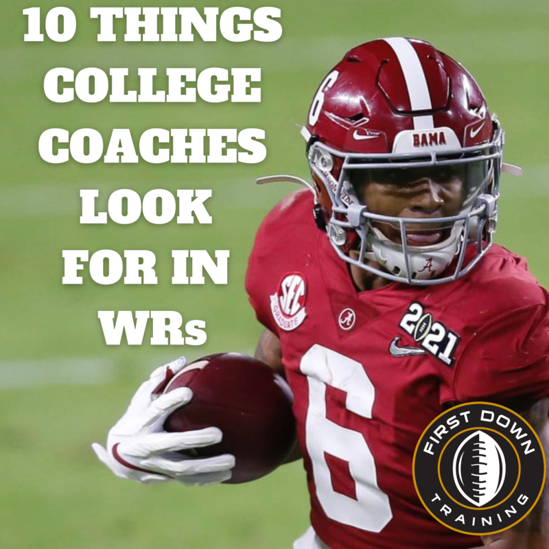 10 Things College Coaches Look For In WRs