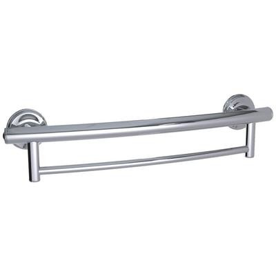 2-in-1 Grab Bar Towel Bar Available in 3 Finishes