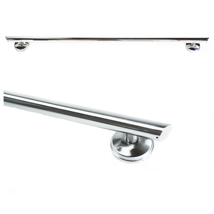 32 Inch Straight Shower Grab Bar Angled Ends