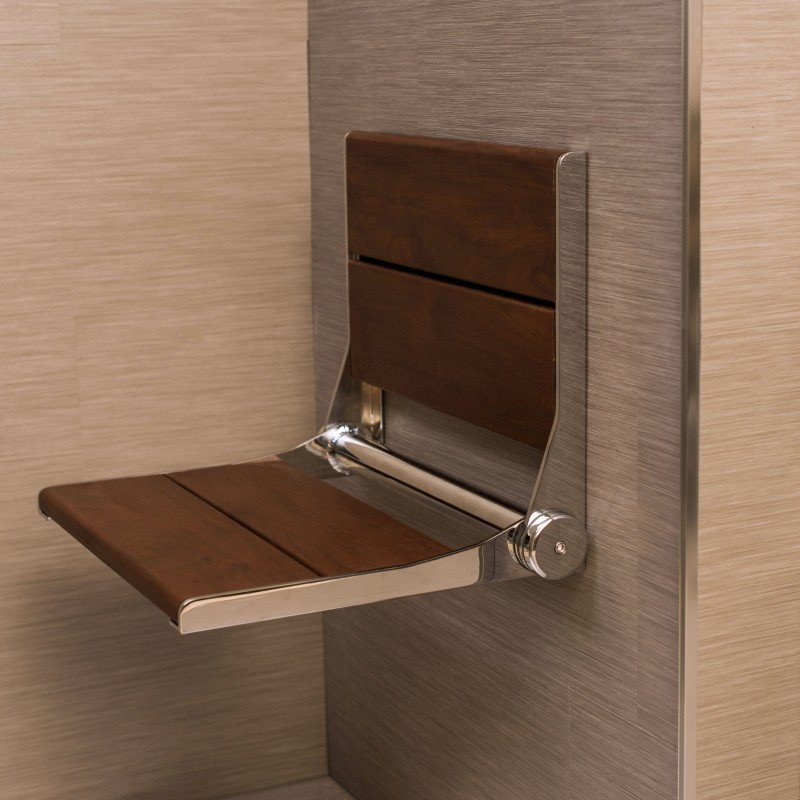 """Shower Seat Wall Mounted Shower Seat 18""""-32"""""""