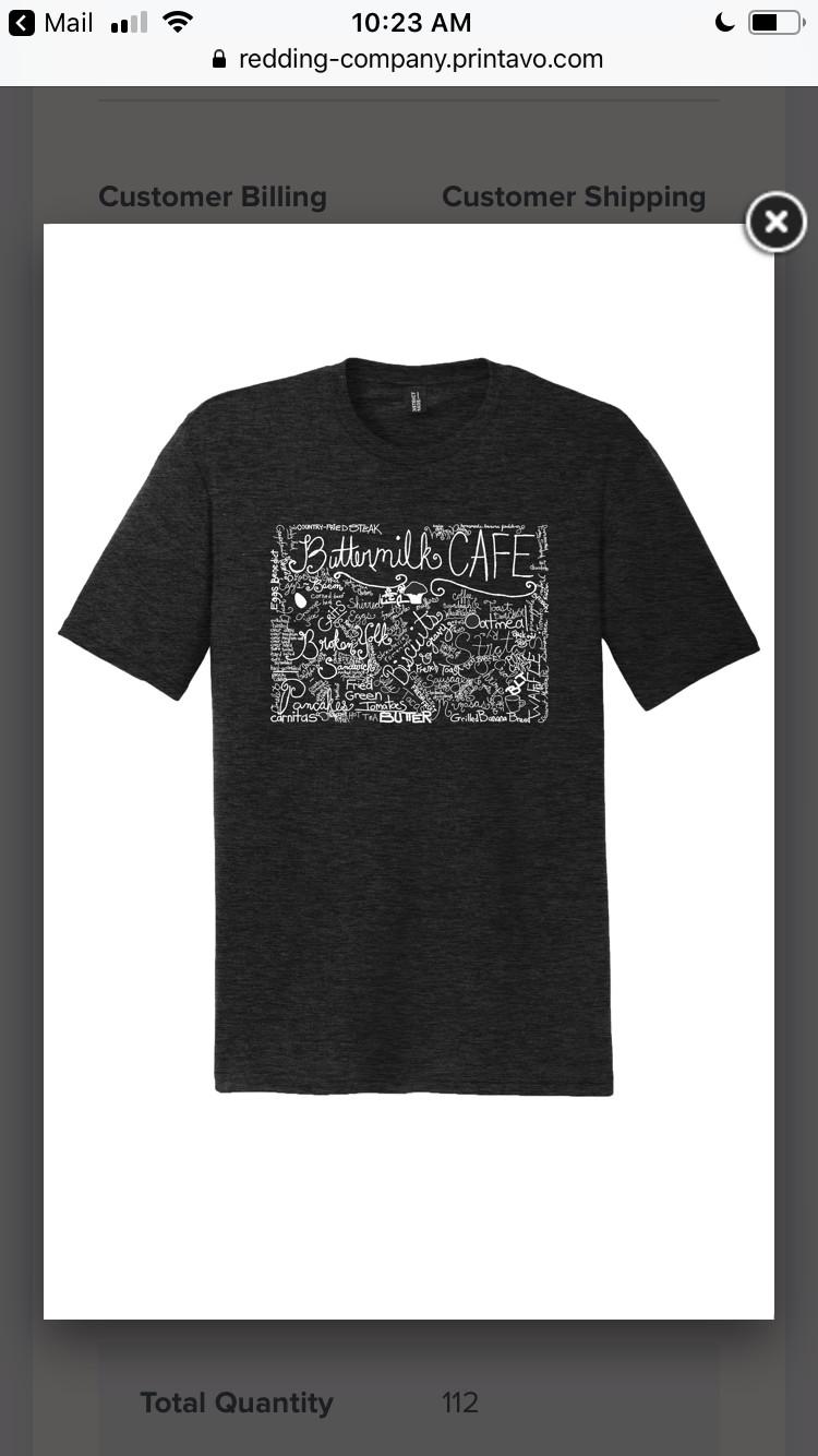 Buttermilk Cafe T-Shirt