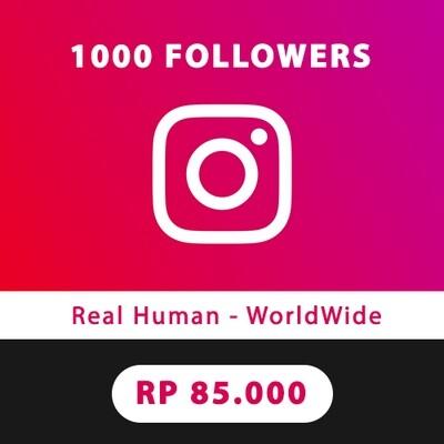 1.000 Followers Instagram Aktif