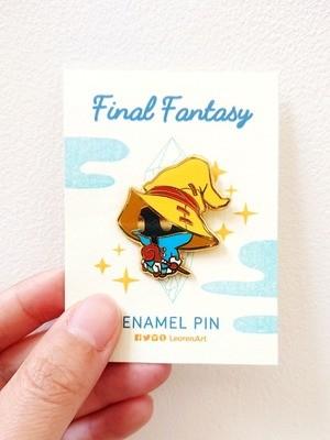 Final Fantasy Black Mage Vivi - Hard Enamel Pin