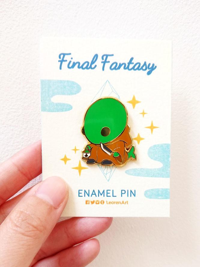 Final Fantasy Tonberry - Hard Enamel Pin