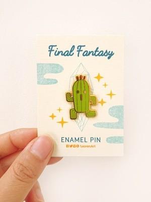 Final Fantasy Cactuar - Hard Enamel Pin