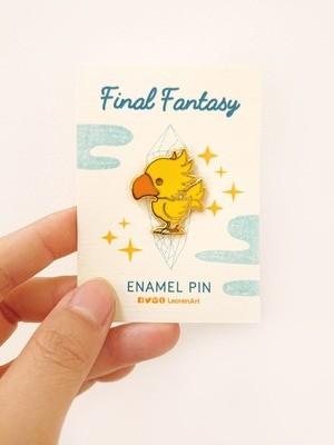 Final Fantasy Chocobo - Hard Enamel Pin