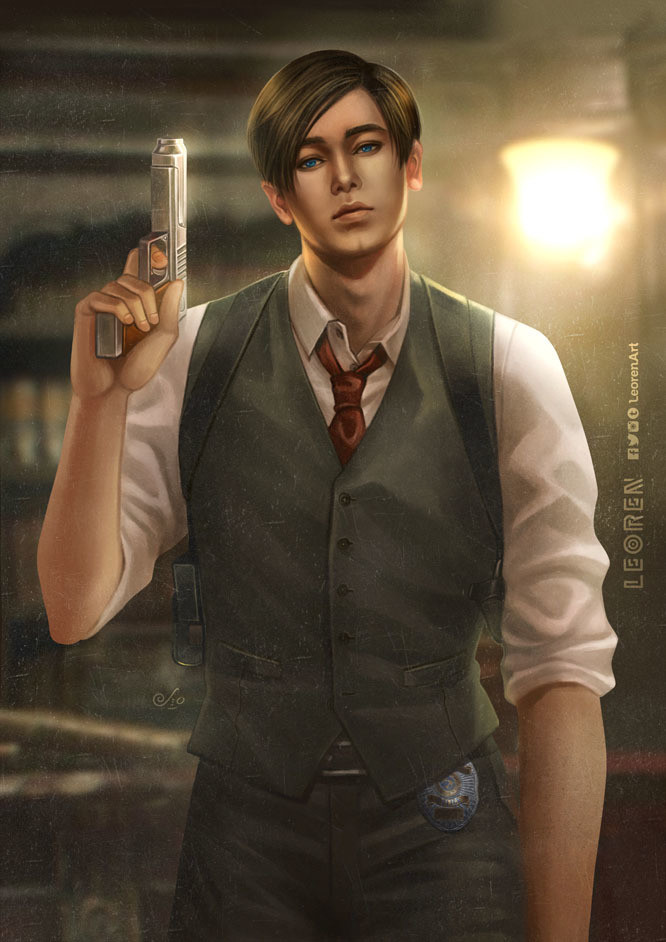 Resident Evil 2 Remake - Leon S Kennedy Print