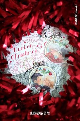 [CLEARANCE SALE] Yuri on Ice - Under the Mistletoe keychain charm / strap