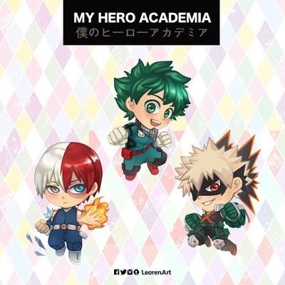 Boku no Hero Academia Keychain Charm