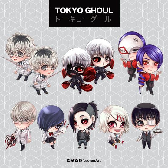 Tokyo Ghoul Keychain Charm
