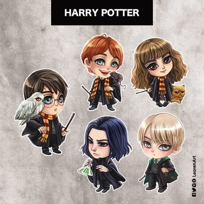 Harry Potter Keychain Charm