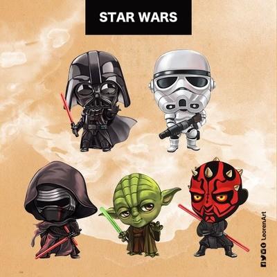 Star Wars Keychain Charm