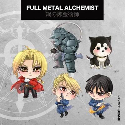 Full Metal Alchemist Keychain Charm