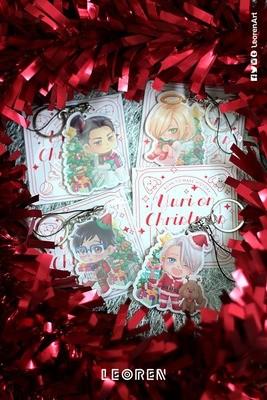 [CLEARANCE SALE] Yuri on Ice - Yuri on Christmas keychain charm / strap