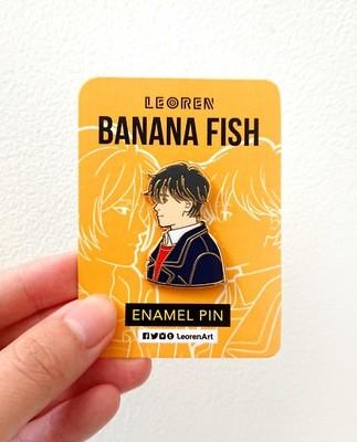 Banana Fish - Eiji Okumura - Hard Enamel Pin