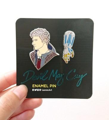 Devil May Cry - Nero feat. Overture Devil Breaker - Hard Enamel Pin
