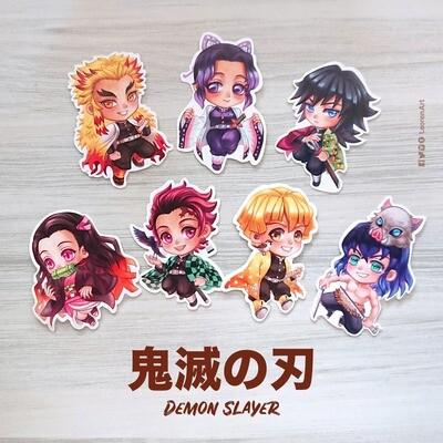 Kimetsu no Yaiba / Demon Slayer sticker set