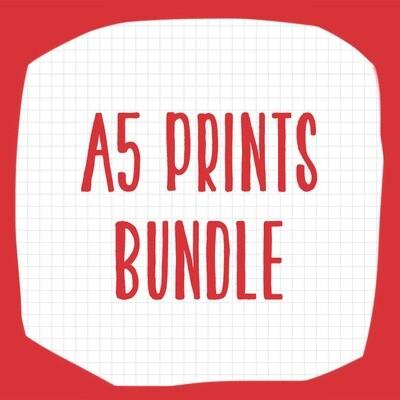 A5 PRINT BUNDLE