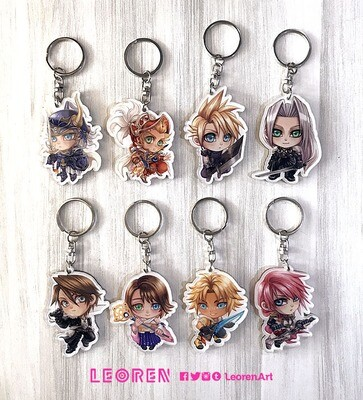 Final Fantasy - Keychain Charm