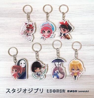 Studio Ghibli - keychain charm