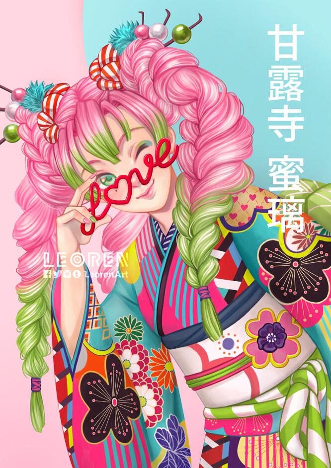 Kanroji Mitsuri - Kimono ver.