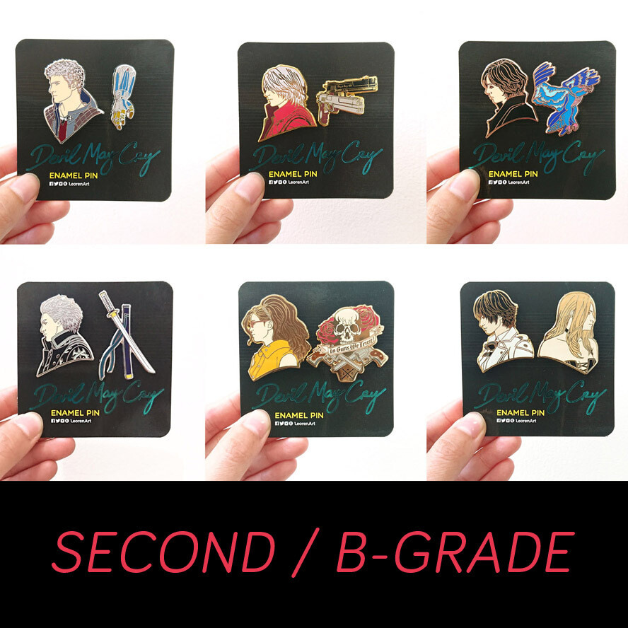 SECONDS / B-GRADE sale - Devil May Cry - hard enamel pin