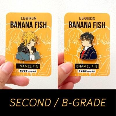 SECONDS / B-GRADE sale - Banana Fish - hard enamel pin