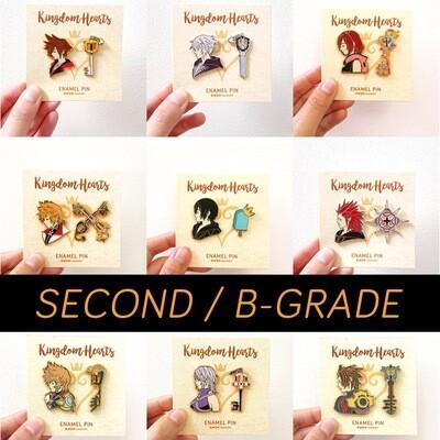SECONDS / B-GRADE sale - Kingdom Hearts - hard enamel pin