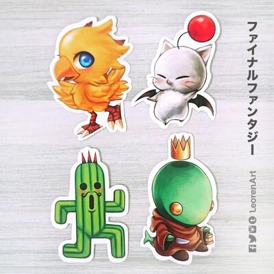 Final Fantasy Cuties - sticker set