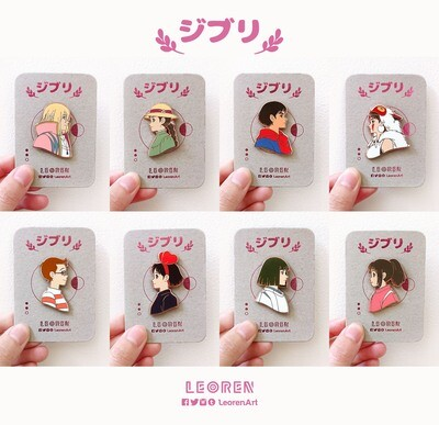 Ghibli - Hard Enamel Pin