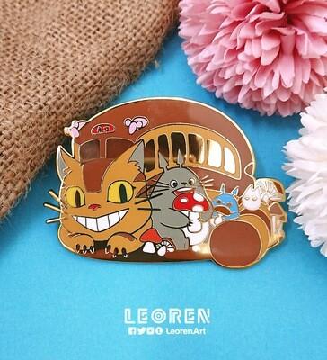 Ghibli - Totoro - Hard Enamel Pin