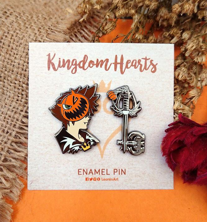 Kingdom Hearts - Halloween Sora - Hard enamel pin