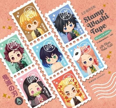 Kimetsu no Yaiba / Demon Slayer - stamp washi tape