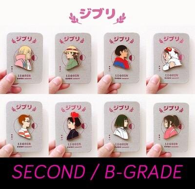 SECONDS / B-GRADE sale - Ghibli - hard enamel pin