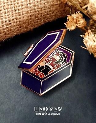 FF7 - Vincent Coffin - Hard Enamel Pin