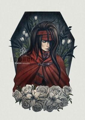 FF7 / FINAL FANTASY VII - Vincent Valentine - Art Print