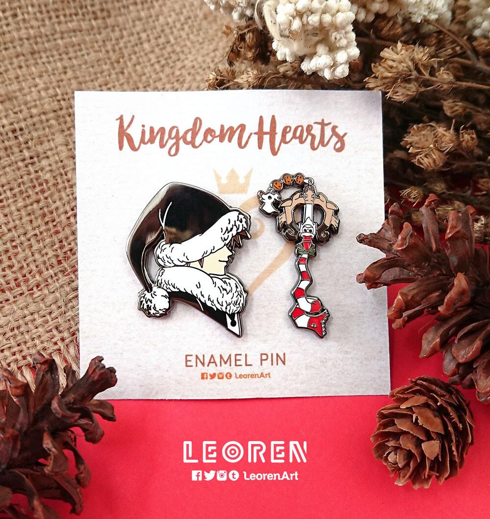 Kingdom Hearts - Christmas Sora - Hard Enamel Pin