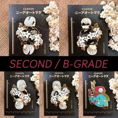 SECONDS / B-GRADE sale - Nier Automata - Hard Enamel Pin