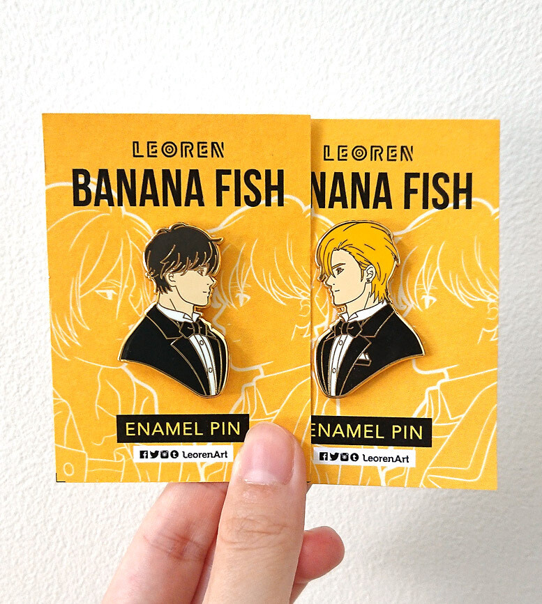 Banana Fish - Second Wave - Hard Enamel Pin