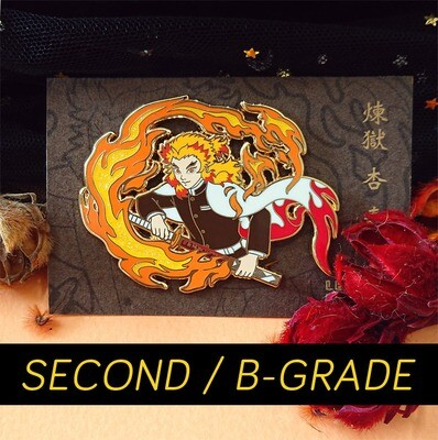 SECONDS / B-GRADE sale - Rengoku - hard enamel pin
