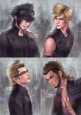 Final Fantasy XV / FFXV - Art Print / Poster
