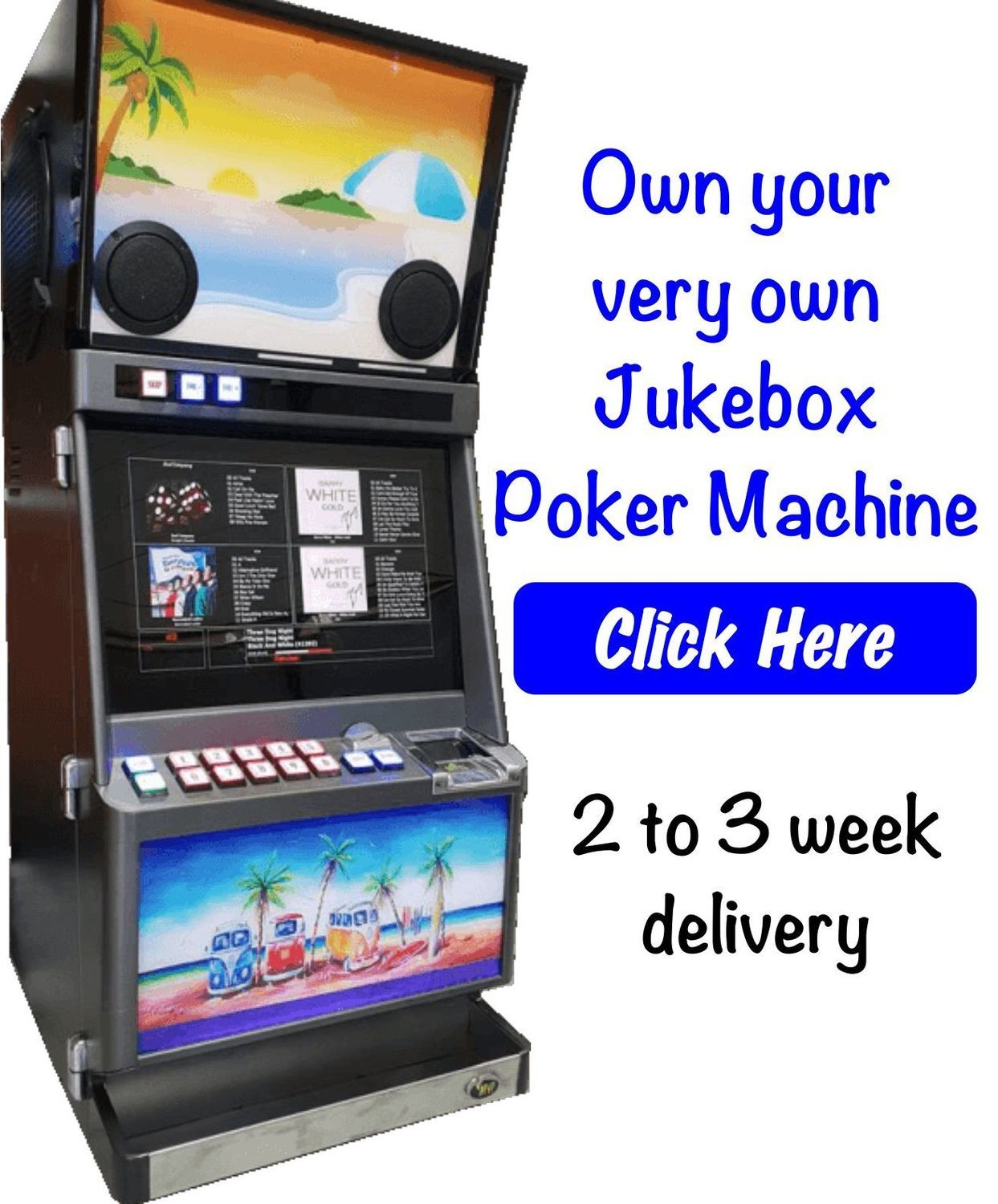 JukeBox Poker Machine